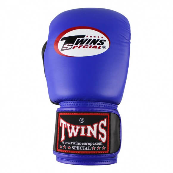 Twins BGVL3 retro blauw/zwart (kick)bokshandschoenen