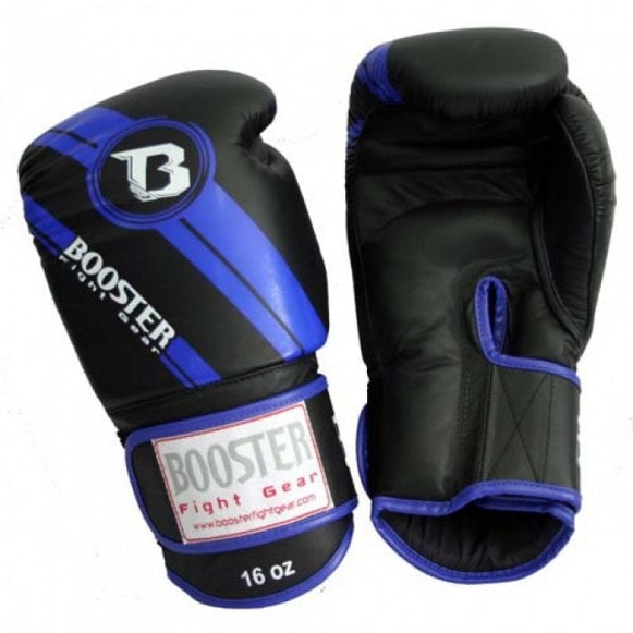 Booster Pro BGL 1 V3 zwart-blauw (kick)bokshandschoenen