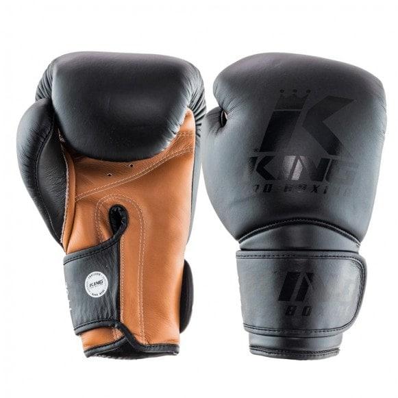King (kick)bokshandschoenen kpb/bg star 3 zwart/bruin