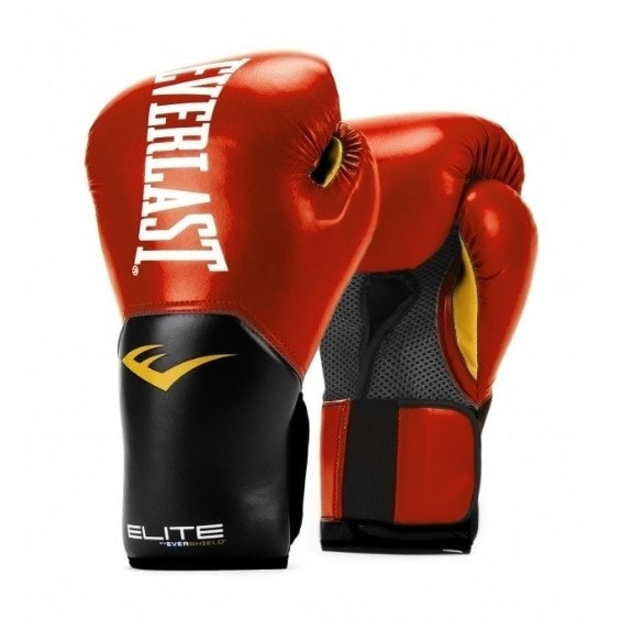 Everlast elite pro style 2 (kick)bokshandschoen rood