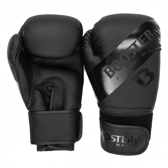 Zwarte kickbokshandschoenen van Booster BT sparring.