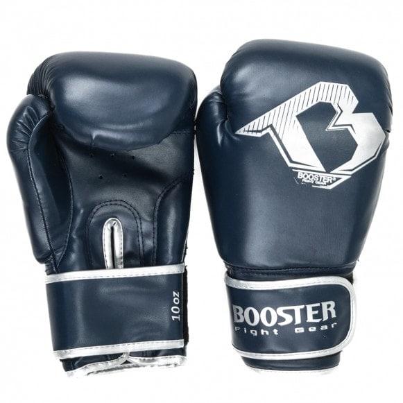 Blauwe starter kickbokshandschoenen van Booster BT.