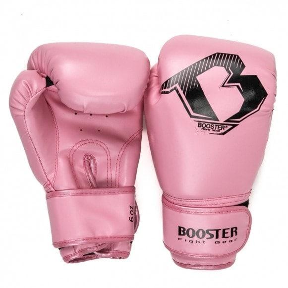 Roze starter kickbokshandschoenen van Booster BT.