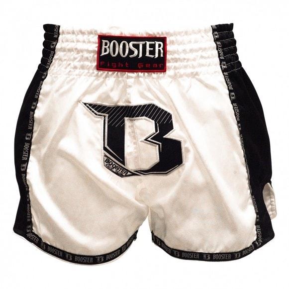 Wiite fightshort van Booster tbt-pro.