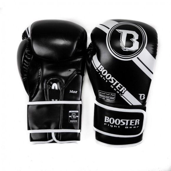 Kickbokshandschoenen van Booster, de BG Premium Striker 1.