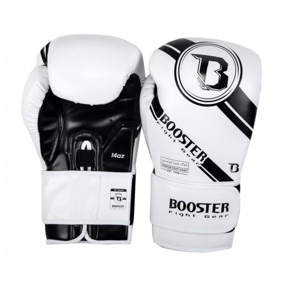 Kickbokshandschoenen van Booster, de BG Premium Striker 2.
