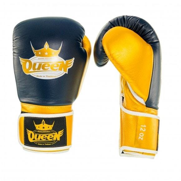 Kickbokshandschoenen van Queen, de Pro 2.