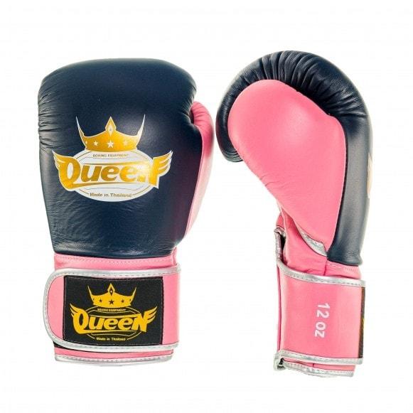 Kickbokshandschoenen van Queen, de Pro 4.