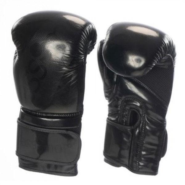 Zwarte (kick)bokshandschoenen van Essimo Tokyo.